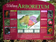 Welcome Sign at Arboretum